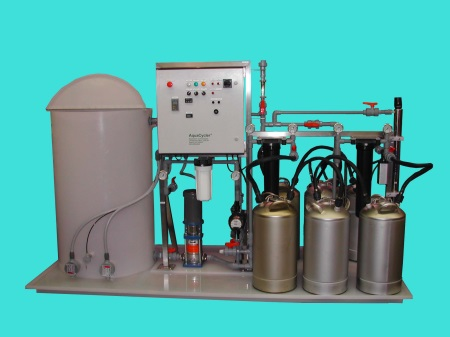 closed-loop di water recycling system